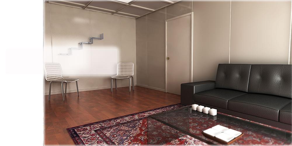 Una sala de espera